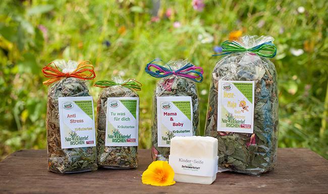 Aus Rosmarie's Kräutergarten in Irschen kommen viele bunte und wohlschmeckende Teekreationen. Sie sind richtig gut zum Entspannen, Entschlacken, Auftanken und Wohlfühlen.